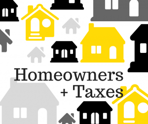 Tax Tips Homeowners