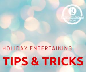 holiday entertaining tips